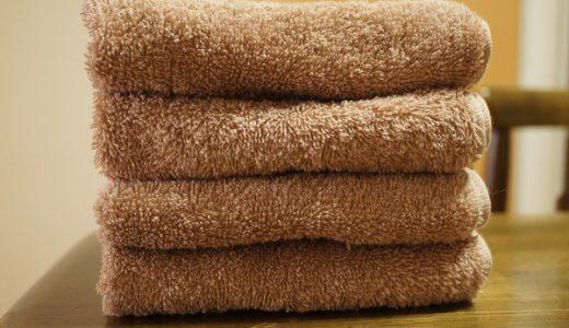 バスタオルは断捨離。小さなタオルならこれからの季節もすぐに乾いて快適です。