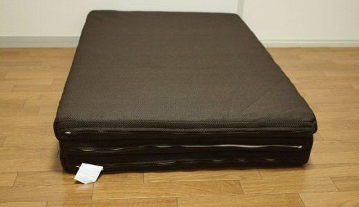 ベッドはいらない。布団も嫌。干さなくていいエアリーマットレスが快適です♪