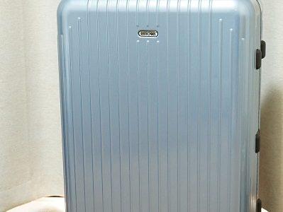滅多に使わない物は、やっぱりレンタルに限る!大きなスーツケースを借りて旅行へ行きました♪