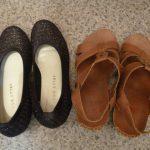 【衣替え断捨離】夏物の靴を全て捨てました。